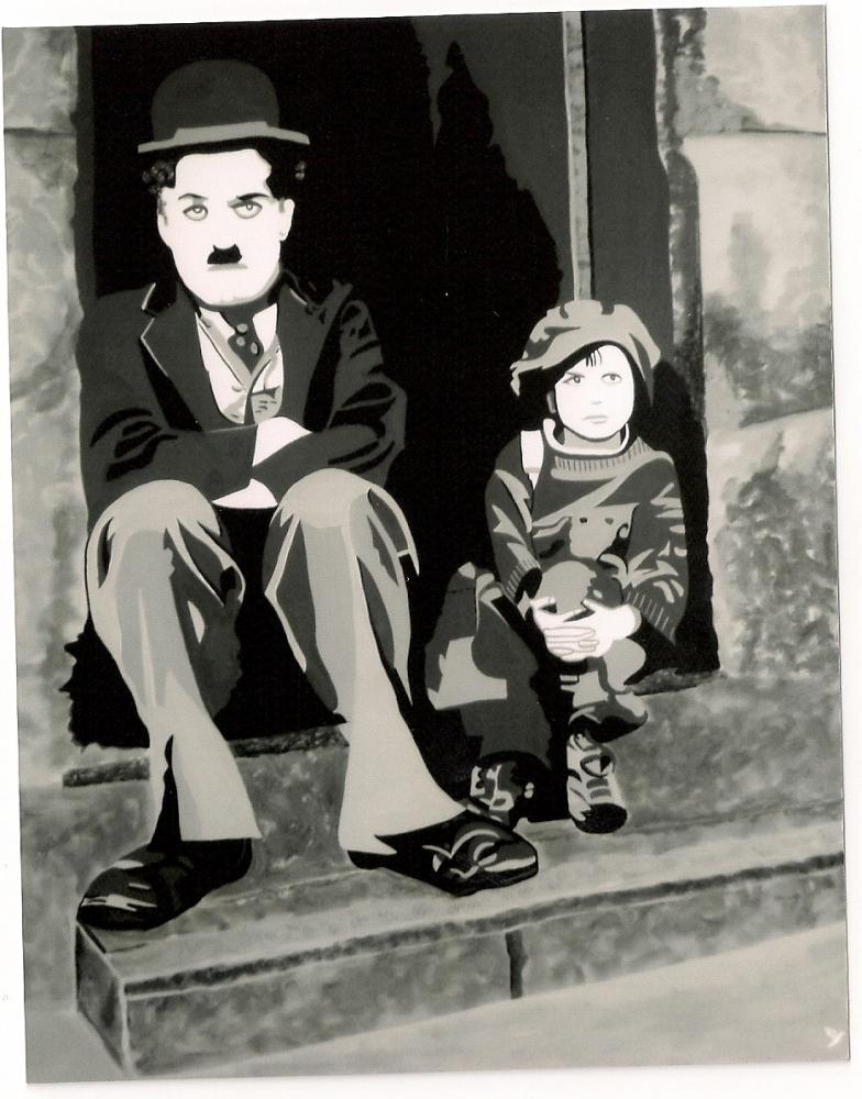 Charlie Chaplin par @do